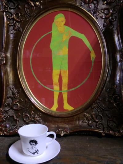 『エゴン・シーレ』自画像