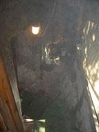 浴場へ向かう階段
