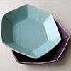 六角浅鉢(青白磁)
