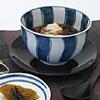 染付流水紋雑煮碗